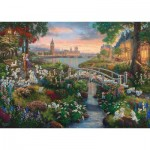 Puzzle   Thomas Kinkade, Disney, 101 Dalmatians