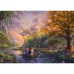Puzzle   Thomas Kinkade - Disney - Pocahontas