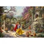 Puzzle   Thomas Kinkade, Disney, Snow White - Dance with the Prince