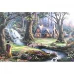 Puzzle   Thomas Kinkade - Disney, Snow White