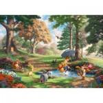 Puzzle   Thomas Kinkade - Disney - Winnie The Pooh