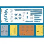 Puzzle  Schreiber-Bogen-4374 Cardboard Model: Laser-cut Set Bleichen