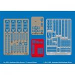 Schreiber-Bogen-4476 Cardboard Model: Laser-cut Set Hamburger Hafen