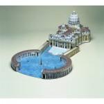 Puzzle  Schreiber-Bogen-564 Cardboard Model: St. Peter's Square, Rome