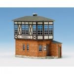 Schreiber-Bogen-583 Cardboard model: Poseneck switch station
