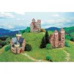 Schreiber-Bogen-602 Cardboard model: Three castles