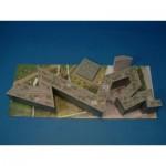 Puzzle  Schreiber-Bogen-609 Cardboard model: Jewish Museum Berlin