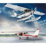 Puzzle  Schreiber-Bogen-631 Cardboard Model: Cessna 150