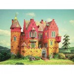 Puzzle  Schreiber-Bogen-634 Cardboard Model: Knight's Castle