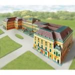 Puzzle  Schreiber-Bogen-635 Cardboard Model: Schönbrunn Castle Vienna