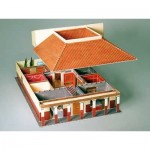 Puzzle  Schreiber-Bogen-639 Cardboard Model: The Roman country house