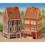 Puzzle  Schreiber-Bogen-640 Cardboard Model: Old Town Set 3