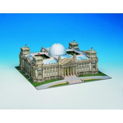 Puzzle Schreiber-Bogen-642 Cardboard Model: Reichstag