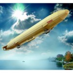 Puzzle  Schreiber-Bogen-645 Cardboard Model: Airship Schwaben