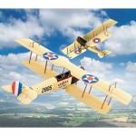Puzzle  Schreiber-Bogen-649 Cardboard Model: Curtiss JN-4 Jenny