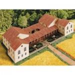 Puzzle  Schreiber-Bogen-650 Cardboard Model: Roman Estate Villa rustica