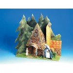 Schreiber-Bogen-659 Cardboard Model: Hansel and Gretel