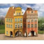 Puzzle  Schreiber-Bogen-660 Cardboard Model: Old Town Set 4