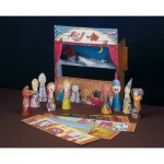 Puzzle  Schreiber-Bogen-663 Cardboard Model: Finger Puppet Show