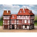 Puzzle  Schreiber-Bogen-672 Cardboard Model: Old Town Set 5