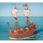 Puzzle  Schreiber-Bogen-675 Cardboard Model: Pirate Ship