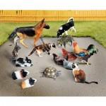Puzzle  Schreiber-Bogen-687 Cardboard Model: Domestic Animals