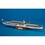 Puzzle  Schreiber-Bogen-696 Cardboard Model: The Paddle-steamer Dresden