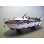 Puzzle  Schreiber-Bogen-71008 Cardboard Model: Chris Craft Futura