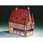 Schreiber-Bogen-71354 Cardboard Model: Town Hall Michelstadt