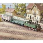 Puzzle  Schreiber-Bogen-715 Cardboard Model: Württemberg T3 Locomotive