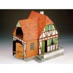 Puzzle  Schreiber-Bogen-72182 Cardboard Model: farm