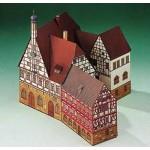 Puzzle  Schreiber-Bogen-72198 Cardboard Model: Forchheim Town Hall