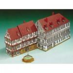 Puzzle  Schreiber-Bogen-72235 Cardboard Model: Naughty House Forchheim