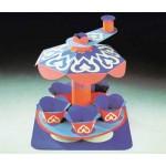 Puzzle  Schreiber-Bogen-72238 Cardboard Model: Revolving carousel