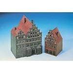 Schreiber-Bogen-72409 Cardboard Model: Houses from Luneburg 1