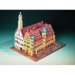Puzzle  Schreiber-Bogen-72432 Cardboard Model: Rothenburg Town Hall