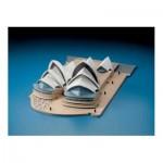 Puzzle  Schreiber-Bogen-72433 Cardboard Model: Sydney Opera House