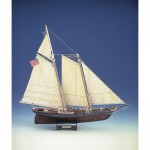 Puzzle  Schreiber-Bogen-72461 Cardboard Model: Yacht America