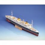 Puzzle  Schreiber-Bogen-72462 Cardboard Model: Steamer Bremen