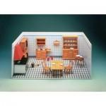 Puzzle  Schreiber-Bogen-72469 Cardboard Model: Old kitchen