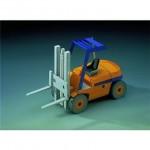 Puzzle  Schreiber-Bogen-72478 Cardboard Model: Forklift Truck