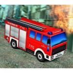 Puzzle  Schreiber-Bogen-725 Cardboard Model: Fire Engine