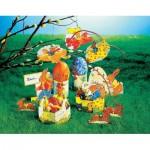 Puzzle  Schreiber-Bogen-72615 Easter Eggs
