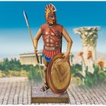 Puzzle  Schreiber-Bogen-727 Cardboard Model:  Soldier in Ancient Greece