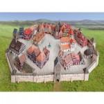 Puzzle  Schreiber-Bogen-729 Cardboard Model: Medieval Town