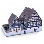Puzzle  Schreiber-Bogen-732 Cardboard Model: Medieval Hospital Blaubeuren