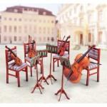 Puzzle  Schreiber-Bogen-737 Cardboard Model: String Quartet