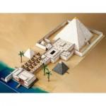 Puzzle  Schreiber-Bogen-741 Cardboard Model: Pyramid with Valley Temple