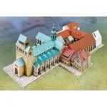 Puzzle  Schreiber-Bogen-742 Cardboard Model: Hildesheim Cathedral