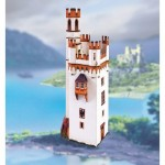 Puzzle  Schreiber-Bogen-745 Cardboard Model: Mouse Tower near Bingen am Rhein
